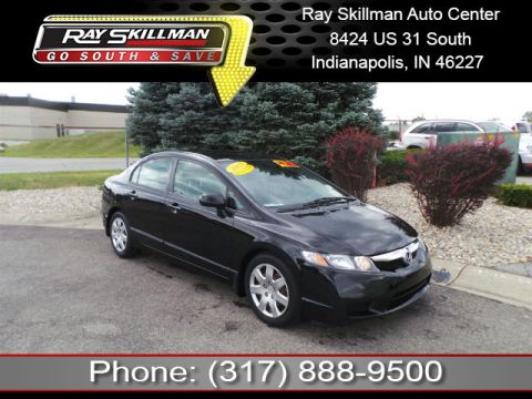 Pre-Owned 2009 Honda Civic LX FWD Sedan