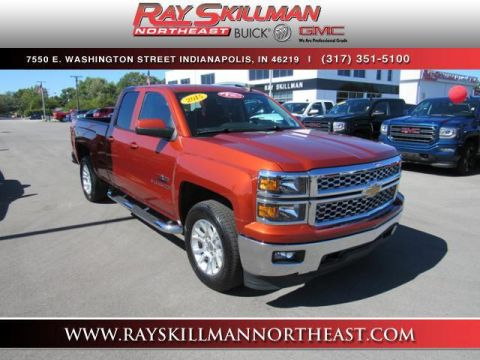 Pre-Owned 2015 Chevrolet Silverado 1500 4WD Double Cab 143.5 LT w/1LT 4WD