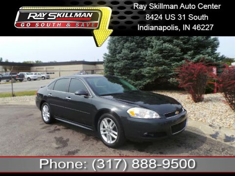 Pre-Owned 2013 Chevrolet Impala LTZ FWD Sedan