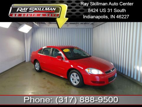 Pre-Owned 2011 Chevrolet Impala LS FWD Sedan