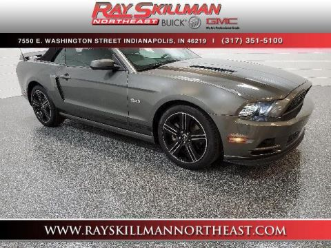 Pre-Owned 2014 Ford Mustang 2dr Conv GT Premium